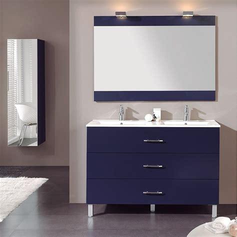 meuble salle de bain 224 poser 120 cm 3 tiroirs plan