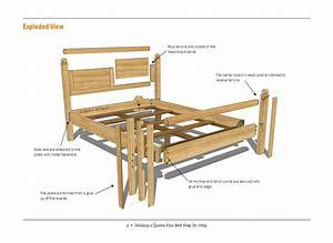 queen bed plans net: Free Woodworking Plan: Making