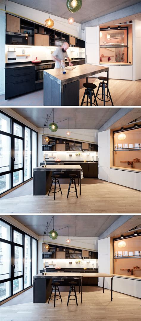 kitchen design layouts this apartment for a family of four includes a variety of 3867