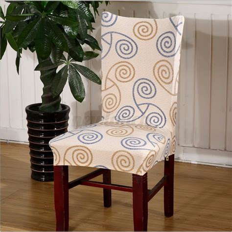 removable elastic stretch slipcovers short dining room