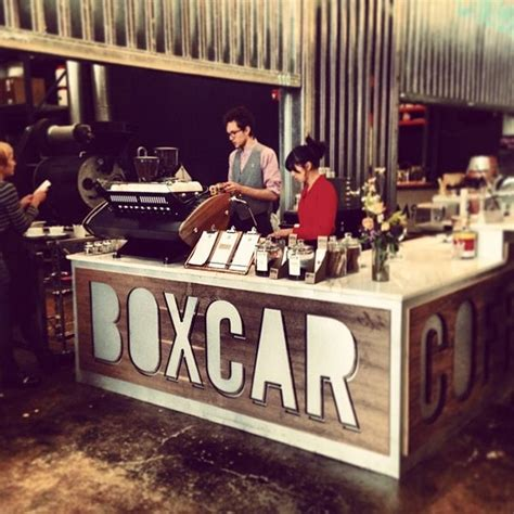Boxcar social is here to impress! Boxcar @ The Source (Now Closed) - Coffee Shop in Five Points