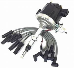 175 549 Ignition Distributor Hei Spark Plug Wires Set