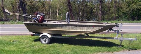 Tracker Jon Boats For Sale by 2007 Used Tracker Grizzly 1448 L All Welded Jon Boat For