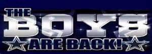 dallas cowboys schedule the boys are back