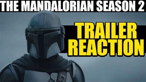 MANDALORIAN SEASON 2 TRAILER REACTION -- WHY THIS WILL ...
