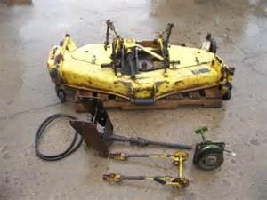 john deere 750 tractor original used 60 quot mid mount mower