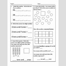 55 First Grade Common Core Math Worksheets By Kathryn Gehrs Tpt