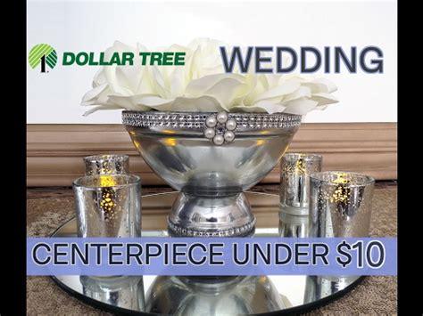 d i y beautiful dollar tree pedestal wedding centerpiece