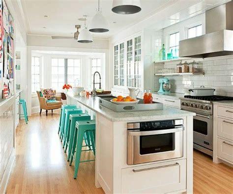 plan de cuisine avec ilot central la cuisine 233 quip 233 e avec 238 lot central 66 id 233 es en photos