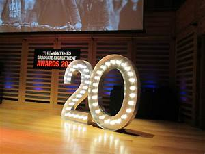 Light Up Numbers To Hire For Any Event
