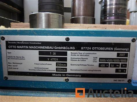 martin   cnc tilting spindle shaper