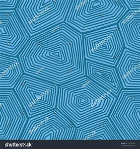 Turtle Shell Pattern Vector Seamless Pattern Stock Vector ...