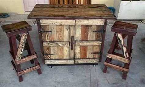 pallet kitchen island pallet rustic kitchen island pallet ideas recycled upcycled pallets furniture projects