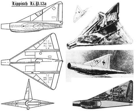 A.N.S.U. - Il caccia nazista Lippisch P.13a