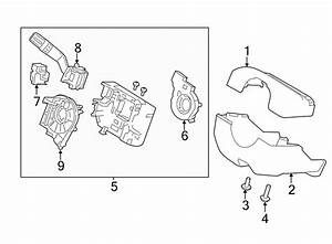 Ford Flex Steering Column Cover  Lower  Wheel  Manual