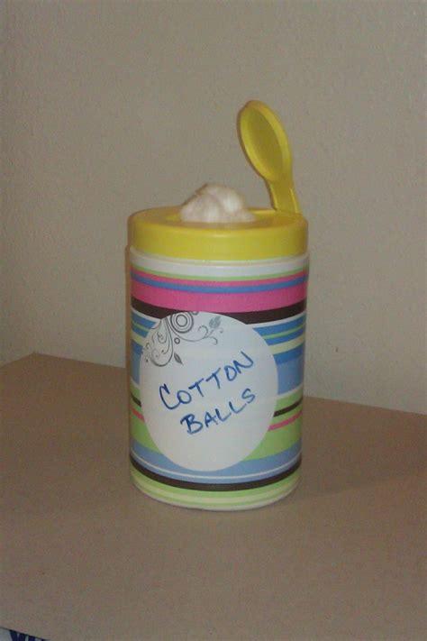 Clorox wipes container repurposed   Clorox wipes container