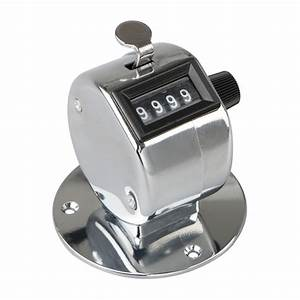 Manual Tally Counter Tsv Digit Number Lap Counter Hand
