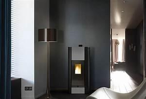 Poele A Granules Design Contemporain : po le granul s olzone 6 kw chazelles ~ Premium-room.com Idées de Décoration