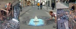 Amazing Sidewalk Art by Julian Beever - The Green Head