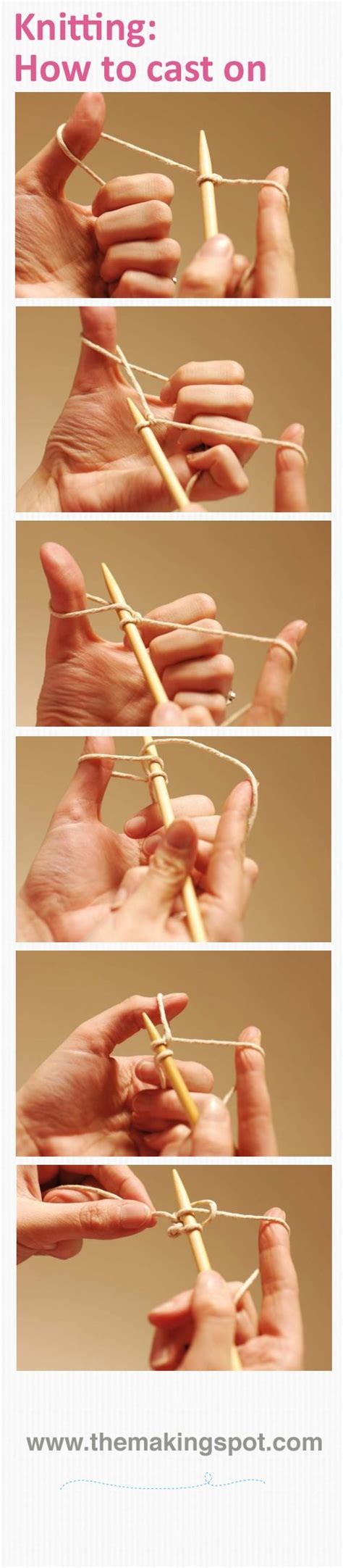 how to cast on knitting pin by cynthia theroux on knitting and crochet projects to make pin