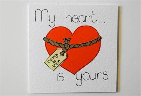 valentine handmade greeting card funny valentine