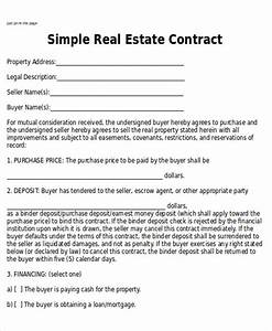 Sample home sales contracts 6 examples in word pdf for House sales contract template