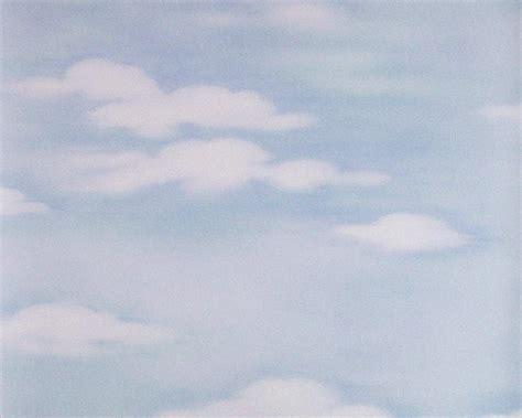 dekora nature 6 papier peint ciel nuageux blanc bleu 7981