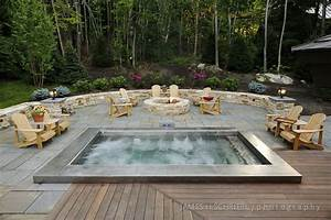 Beauty Built-In Hot Tub – Daily Inspiration For Easy