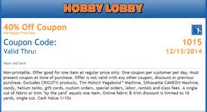 hobby lobby coupons 2014 coupon codes promo codes the knownledge