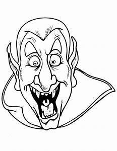 Dessin Halloween Vampire : 23 dessins de coloriage vampire imprimer ~ Carolinahurricanesstore.com Idées de Décoration