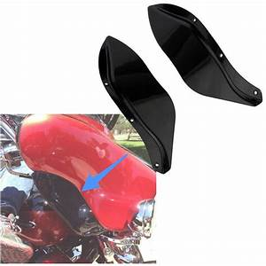 Wind Deflector Fairing Wing For Harley Electra Street
