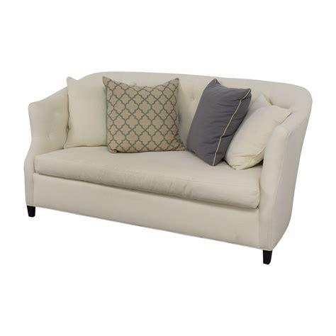 Safavieh Sofa 85 safavieh safavieh tufted white sette sofa