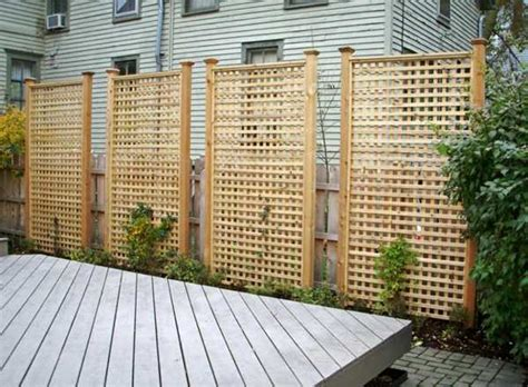 Installing Privacy Fence Panels