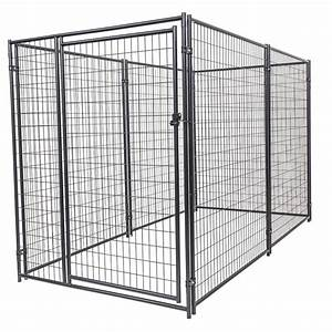lucky dog 6 ft h x 5 ft w x 10 ft l modular kennel With at home dog kennels