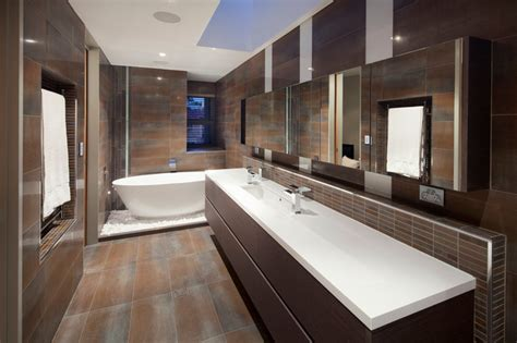 Swanbourne Duplex 2012  Contemporary  Bathroom Perth