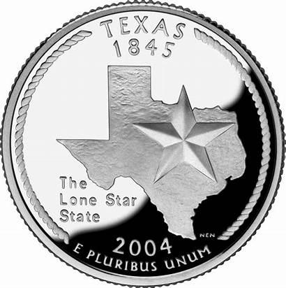 Texas Wikipedia 2004 Historia State Quarter 1845