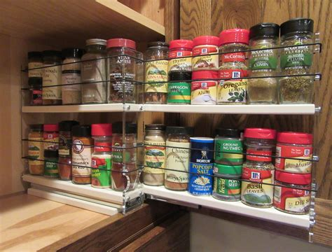 Big Spice Rack by Spice Racks Cabinet Spice Rack Drawers Pull Out Spice