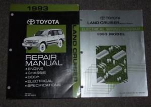 1992 Toyota Land Cruiser Service Shop Repair Set Service And The Wiring Diagrams