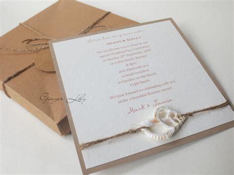 wedding invitation diy kit vintage beach makes 25