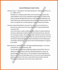 63 4 bibliography example apa 6 annotated With free apa bibliography template