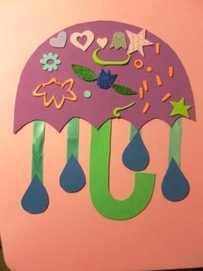 april showers bring may flowers umbrella craft for 805 | l b0497850 9825 11e1 9916 63409b200001