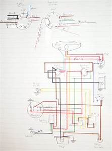 My Bsa Bantam D7  Wiring Diagram