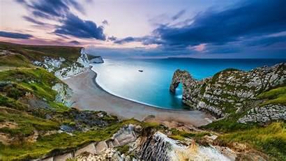 England Door Coast Jurassic Wallpapers Fondos Dorset
