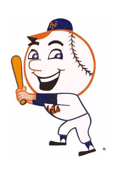 Mets York Met Mascot Clipart Logos Mr