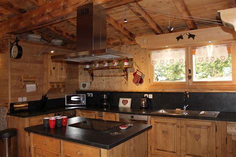 cuisine de chalet la scie location de chalet en haute savoie à samoens