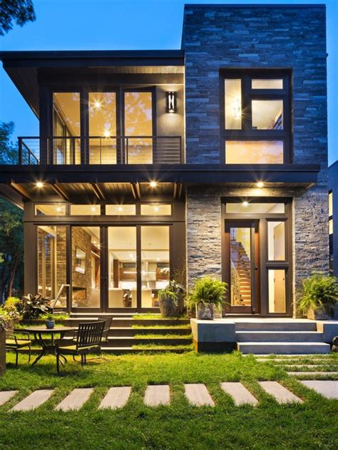Exterior Small Home Design Ideas by 1 464 Small Modern Exterior Home Design Ideas Remodel