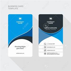 Double sided business card template worddouble sided for Two sided business card template