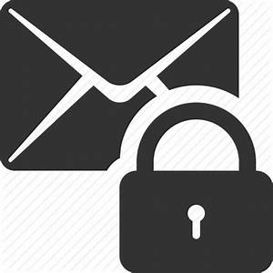 Email, lock, mail, message, password, protection, security ...