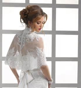 wedding dress boleros and shrugs high neck button back lace jacket bolero coat bridal wedding bridal wrap shrug 2051730 weddbook