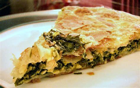 Byrek me spinaq (Spinach pie) Cheese recipes